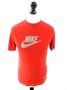 NIKE-Boys-T-Shirt-Top-XL-13-15-Years-Red-Cotton