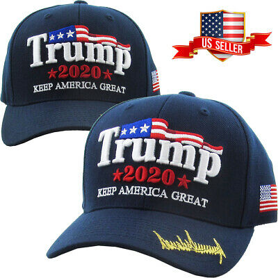 MAGA Make America Great Again Donald Trump Keep America Great USA Navy Blue Hat