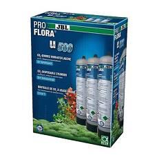 JBL ProFlora u500 2 (3x) CO2 Einweg-Vorratsflasche (3x) 500g Pflanzendüngung