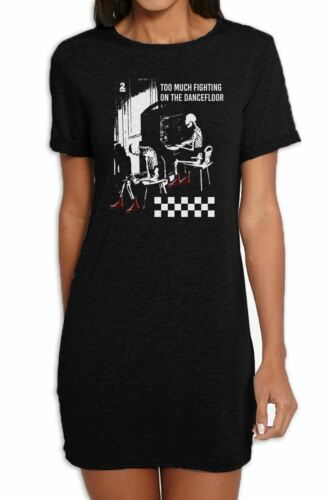 Ghost Town Too Much Fighting The Specials Women/'s T-Shirt Dress
