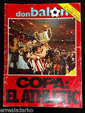 REVISTA DON BALON 448 ATHLETIC BILBAO CAMPEON COPA 83-84 - SELECCION ESPAÑA