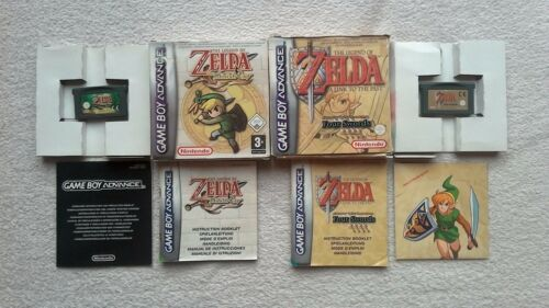 1 of 1 - The Legend of Zelda Minish Cap & Link to the past GameBoy Advance RARE BOXED
