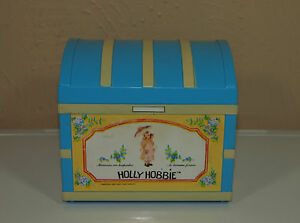 Vintage HOLLY HOBBIE Jewelry Box Chest RADIO Cute eBay