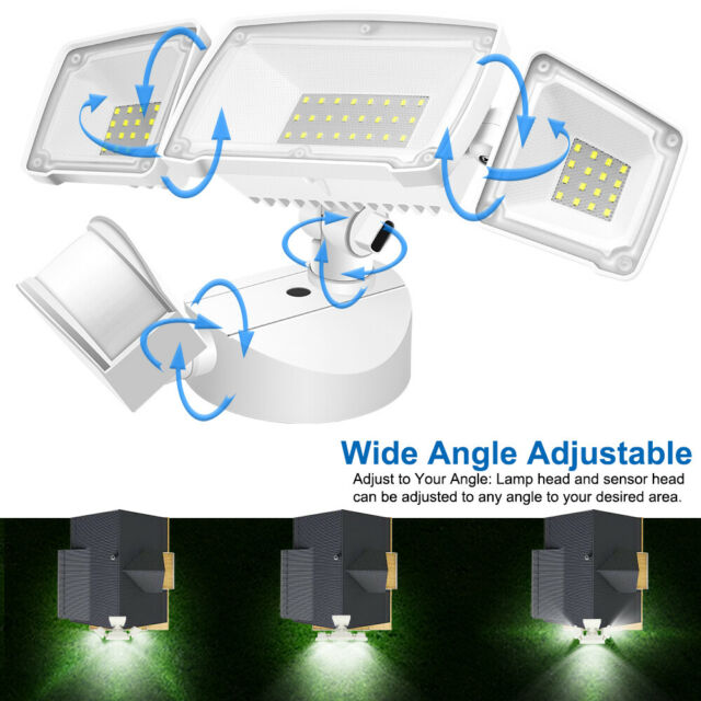 3500LM Motion Sensor Light Outdoor IP6... GLORIOUS-LITE 39W LED Security Light