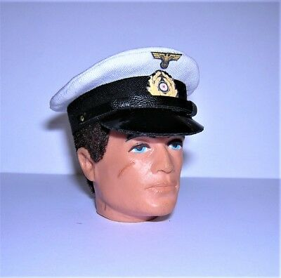 Officer/'s Peaked Cap For Action Man G I Joe Banjoman 1:6 Scale WW2 R.A.F