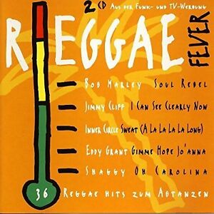 Reggae-Fever-1994-Ariola-Jimmy-Cliff-Bob-Marley-amp-The-Wailers-Pete-2-CD