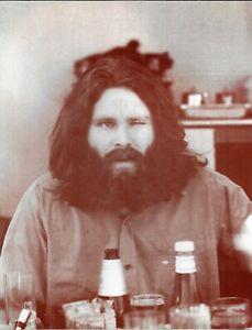 Plakat Foto Sepia Jim Morrison - 35 X 28 CM