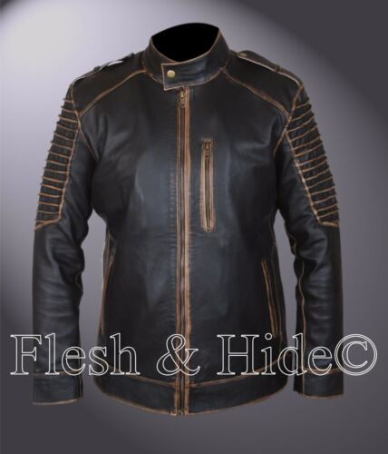 Suicide Leather Removable Jacket Hood Squad W Jared Joker Genuine Leto Killing ZqA5g