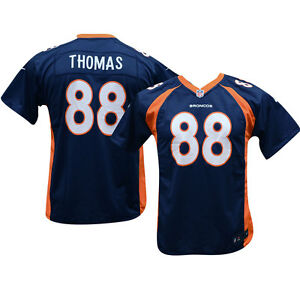 Denver Broncos Demaryius Thomas Nfl  Youth Navy Game Jersey