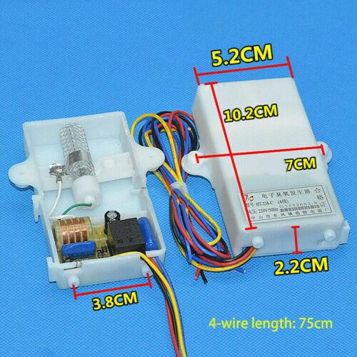 2//4 Wire Universal Ozone Générateur Négatif ION stérilisation ozone Capteur Outils
