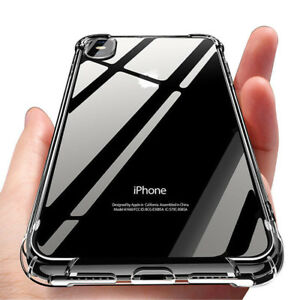 for-iPhone-Xs-8-7-6-Plus-Case-Cover-silicon-Shock-proof-Tough-Hard-Gel-Lot-5-SE