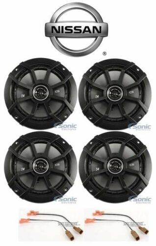 """Kicker CS Front+Rear 6.5/"""" Speaker Replacement Kit For 2007-2012 Nissan Altima"""
