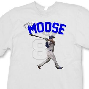 super popular 24f83 cd722 Details about Mike Moustakas #8 Kansas City Royals T-shirt Jersey