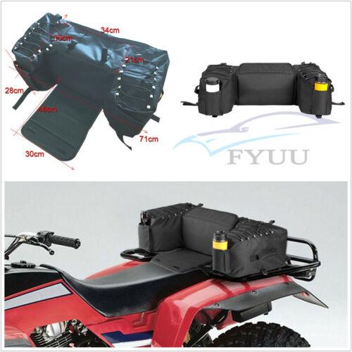 ATVs Off Road Rear Saddlebag Seat Bottom Support Storage Pack Rack Bag Universal