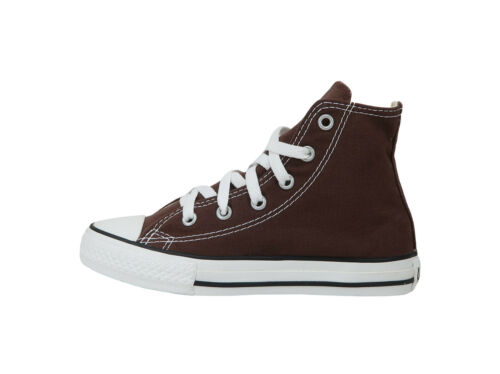 Converse Chuck Taylor All Star High Top Kids Size Girls Shoes Chocolate Brown