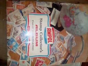 Vintage-Ampol-Australian-Stamp-Collectors-Albumn-Fully-Illustrated