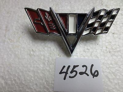 1967 Camaro 1964-67 Impala//Full Size 1965-67 Nova V-Flag Front Fender Emblem
