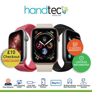 Montre-Apple-Serie-4-40-mm-44-mm-Gps-cellulaire-divers-grades-couleurs