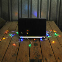 USB Powered 20LED Christmas Fairy Lights 2M Ideal for your PC, Laptop,  Mac