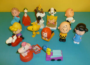 McDonald's Happy Meal Toys The Peanuts Movie Complete Set ...