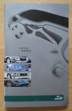 JAGUAR RANGE 2003 UK Mkt Sales Brochure - X S Type New XJ XK XK8 XKR Convertible
