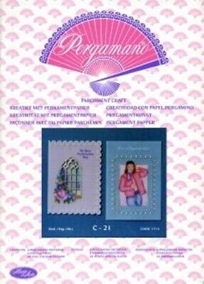New Parchment Craft Pergamano Pattern Book C21 Confirmation