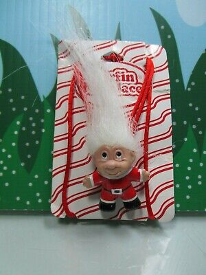 "NEW ON CARD 2/"" DAM Norfin Troll Doll TROLL PIN"