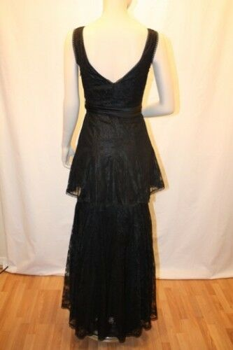 NEW BCBG MAXAZRIA LACE CHARMEUSE EVENING GOWN SIZE SIZE SIZE 0 3e9769