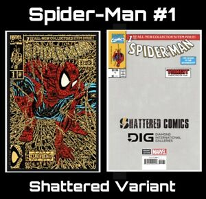 Spider-Man-1-Shattered-Variant-Presale-Gold-Cover