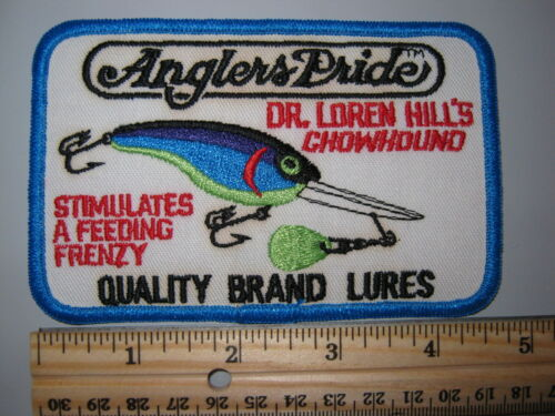 2 Ideal Steelhead Trout Fishing Fish Farms Hatchery Lure Cloth Patch NOS New