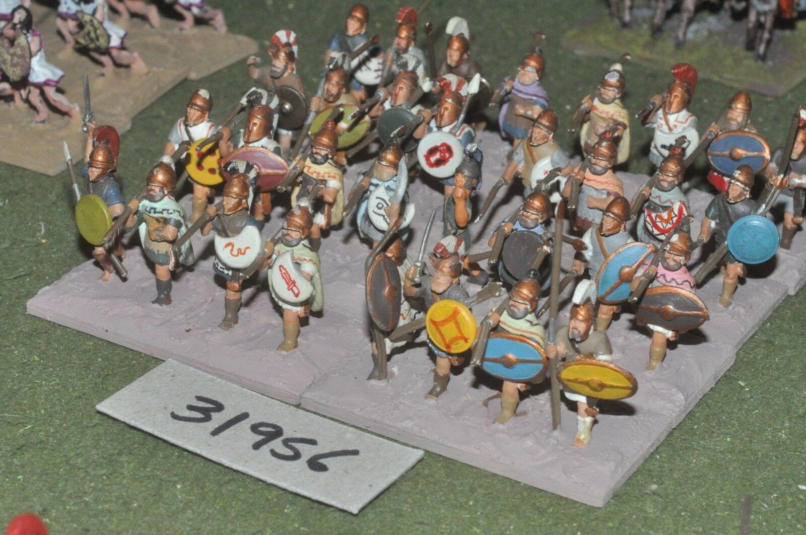 25mm griego clásico-peltasts 32 figuras-INF (31956)