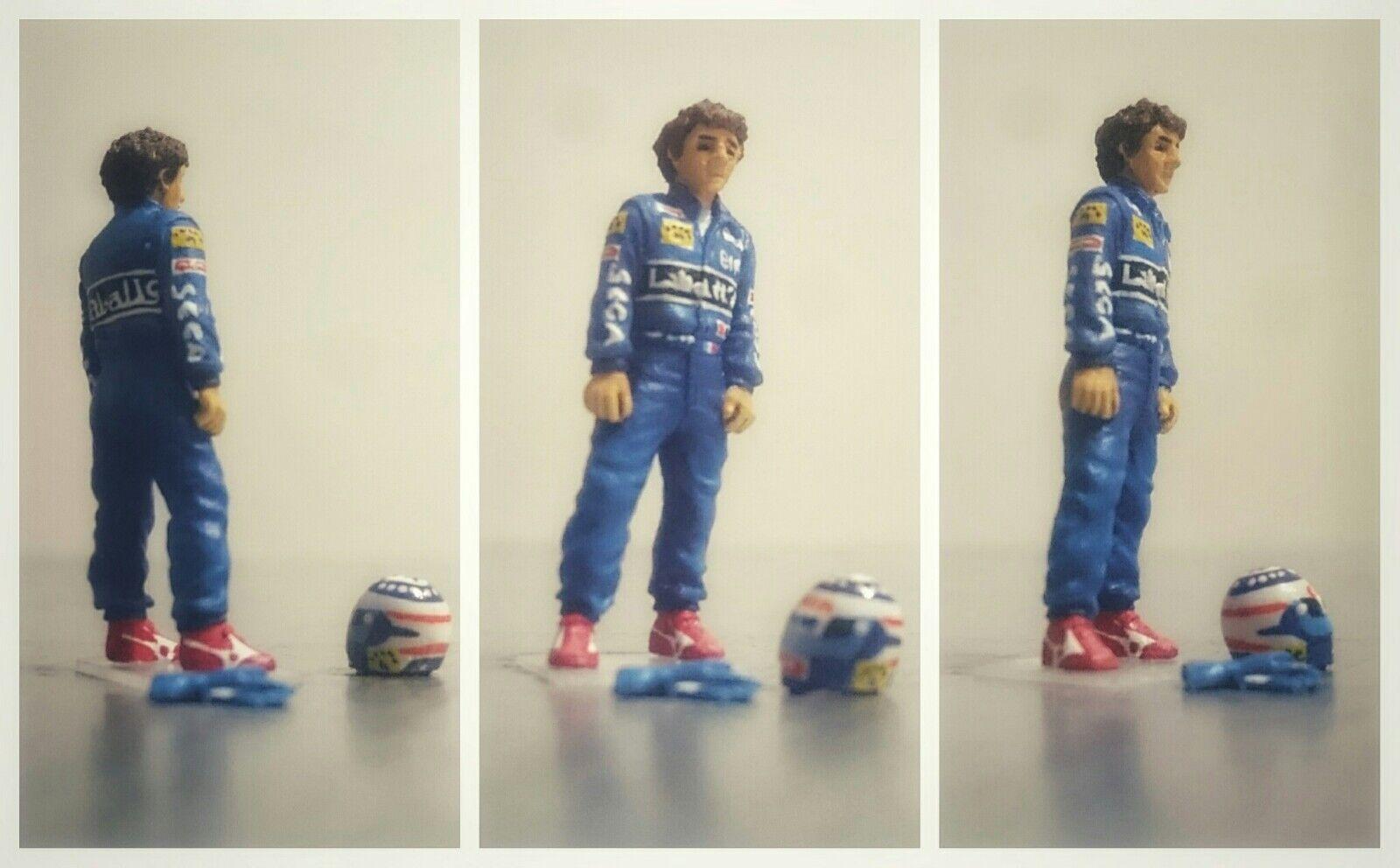 Alain PROST Williams Renault 1993 figurine pilote diorama 1/43 F1 driver figure