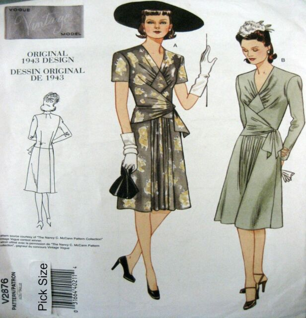 Vogue Vintage Model Patterns Collection On Ebay
