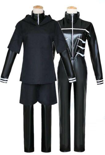 Tokyo Ghoul Kaneki Ken PU Inner Tops /& Shorts Hoodie Sweater Costume for Cosplay