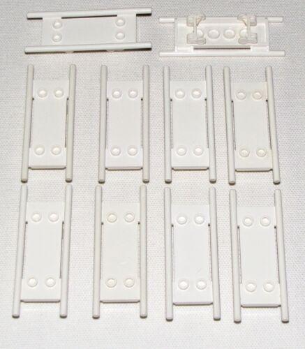 LEGO LOT OF 10 WHITE HOSPITAL MINIFIGURE STRETCHERS NURSE DOCTOR PIECES