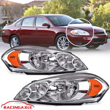 Headlights For 06 13 Chevy Impala06 07 Chevy Monte Carlo Chrome Housing Pair Fits 2006 Impala