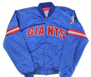 check out 521c3 574e8 Details about NY New York Giants Old School Original 80's Starter Jacket  NEW WITH TAGS Medium