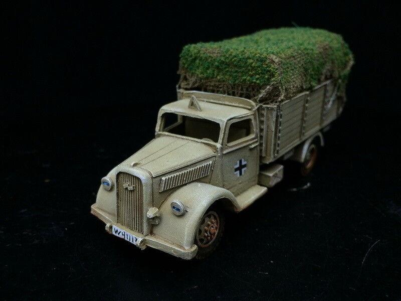 1 56 28mm DPS Pintado Segunda Guerra Mundial Perno acción Dak Opel camión GH1417