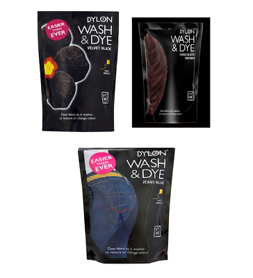 DYLON Wash & Dye - Clothes Dye - DYLON Machine Dye Color ...