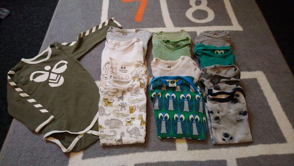 Blandet tøj, Drengepakke str 86, Blandet
