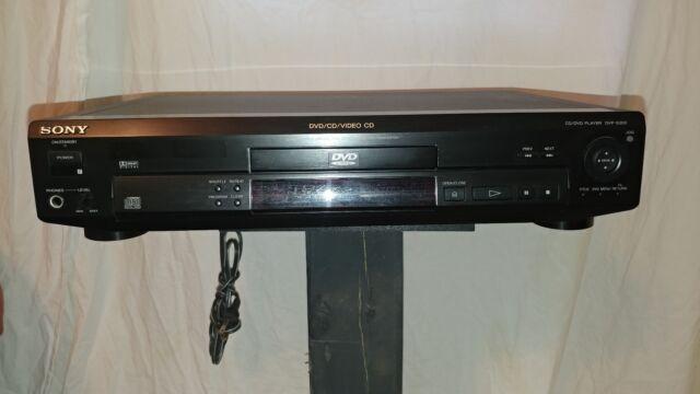 Pre owned Sony DVP-S300 Digital Home Video DVD/CD/Video CD Player