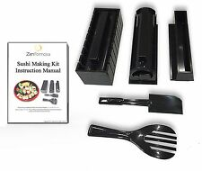 Sushi Making Kit for Beginner at Home with Step by Step Picture Instruction