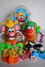 Hasbro Playskool Big Lot Mr Mrs Potato Head Over 40 Parts 2 Spud Silly Suitcase