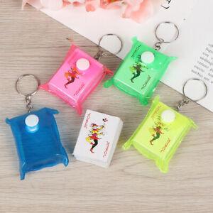 4-3cm-Mini-Spielkarten-Schluesselbund-Kleiner-Poker-Brettspiel-Schluesselbund-WJ