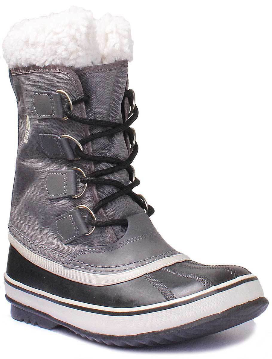 Sorel Winter Carnival Pewter Women Canvas Pewter Carnival Snow Boots d04d02