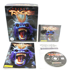 Primal-Rage-for-PC-CD-ROM-in-Big-Box-by-Atari-Games-1995-CIB-VGC