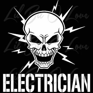 Skull And Lightning Bolts Electrician Vinyl Decal Electric. Space Murals. Laser Beam Signs Of Stroke. Monotone Murals. Printing Signs Of Stroke. Catalog Banners. Dio White Stickers. Saves Signs Of Stroke. Boho Signs