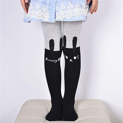Toddler Kids Girls Thick Leggings Winter Warm Full Length Trousers Skirt Pants