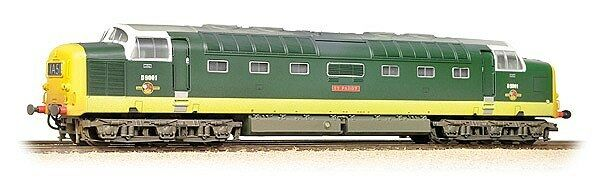 Bachmann klass 55 D901 St. Paddy BR 2 -ton grön Weatherd 32 -533 FRI FkonstYG