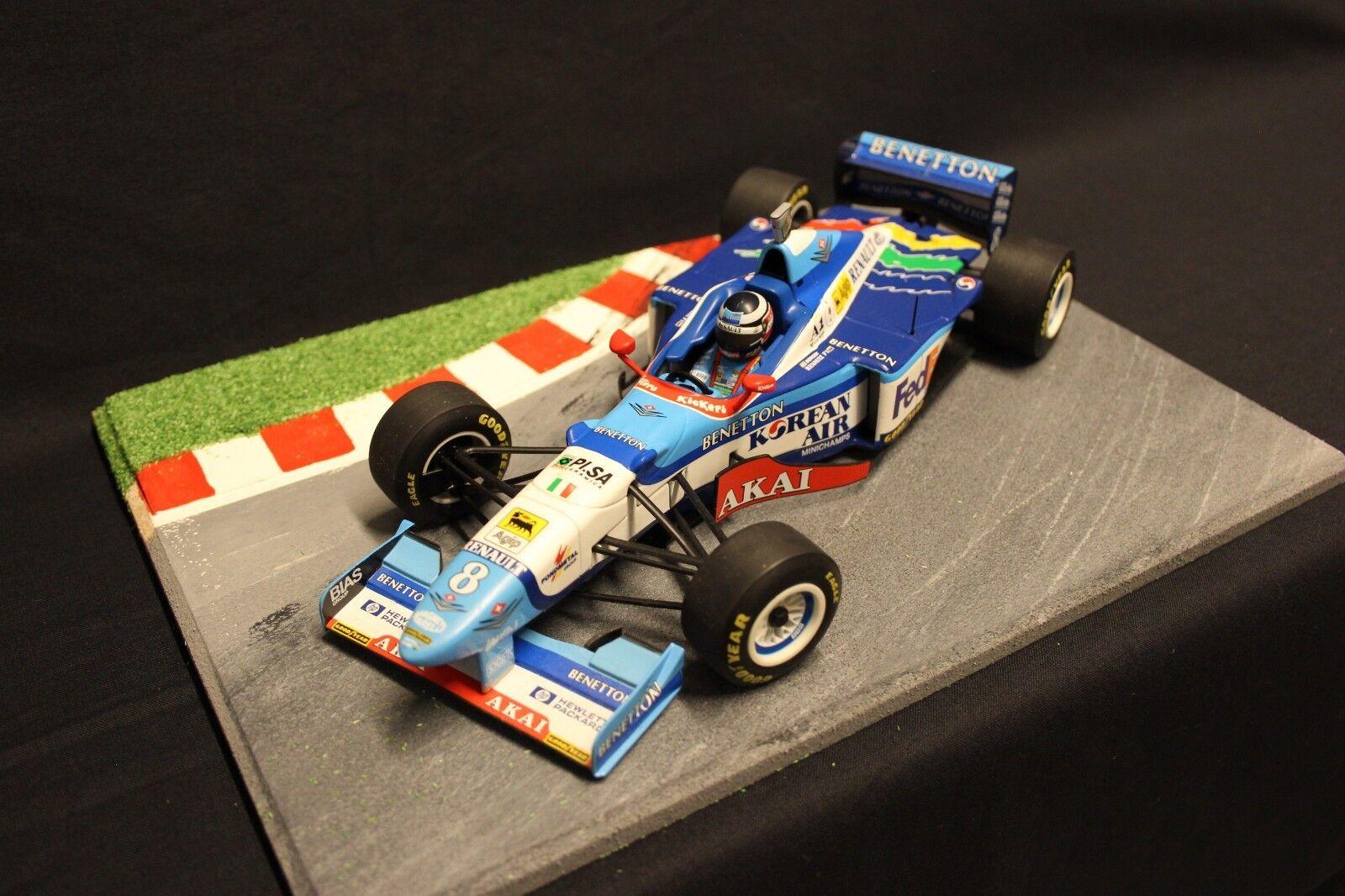 Minichamps Benetton Renault B197 1997 1 18 Gerhard Berger (AUT) (AUT) (AUT) (F1NB) c9094d